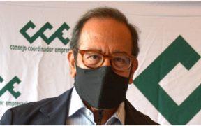 Carlos Salazar Lomelí, titular del Consejo Coordinador Empresarial (CCE)