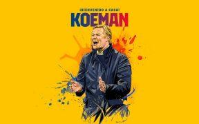 El Barcelona anunció oficialmente la llegada de Koeman. (Foto: FC Barcelona)