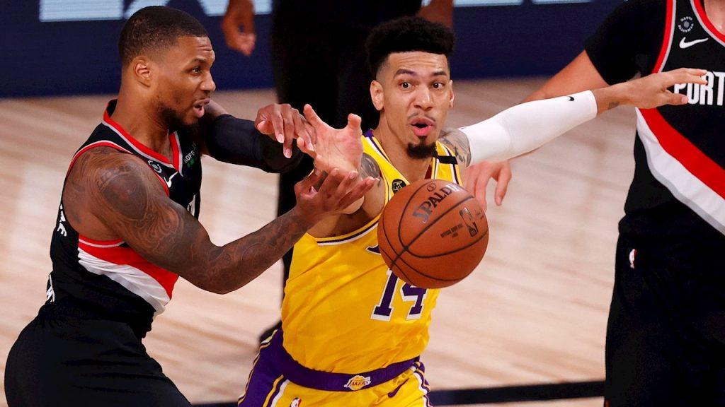Lillard impuso su fuerza y lideró a Portland ante Lakers. (Foto: EFE)