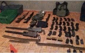 La Fiscalía General de Guanajuato decomisó arsenal del Cártel de Santa Rosa de Lima
