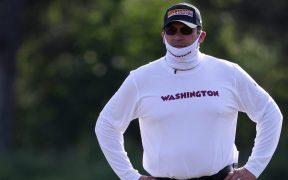 Ron Rivera, entrenador de Washington, padece cáncer. (Foto: Reuters)