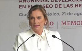 Beatriz Gutiérrez Muller, esposa del presidente Andrés Manuel López Obrador