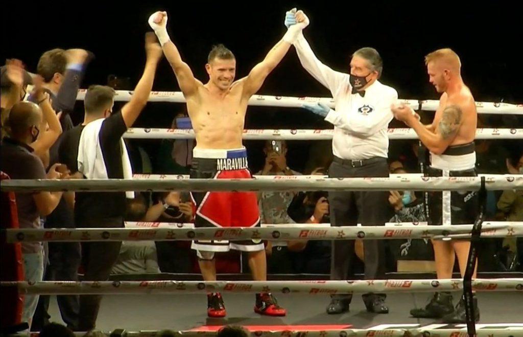 'Maravilla' Martínez venció por KO a Fandiño a sus 45 años de edad. (Captura de video)