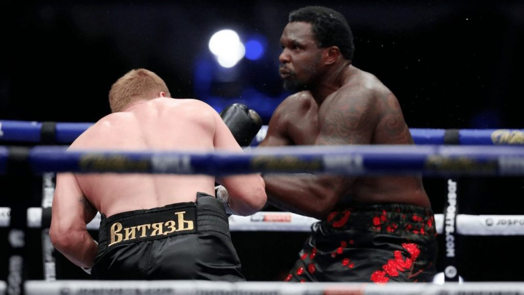 Povetkin noqueó a Whyte, quien había dominado toda la pelea. (Foto: @SportsBiel)