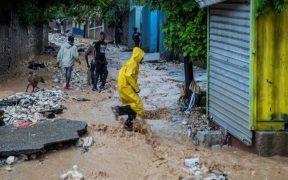 La tormenta 'Laura' ha dejado inundaciones en Haití.
