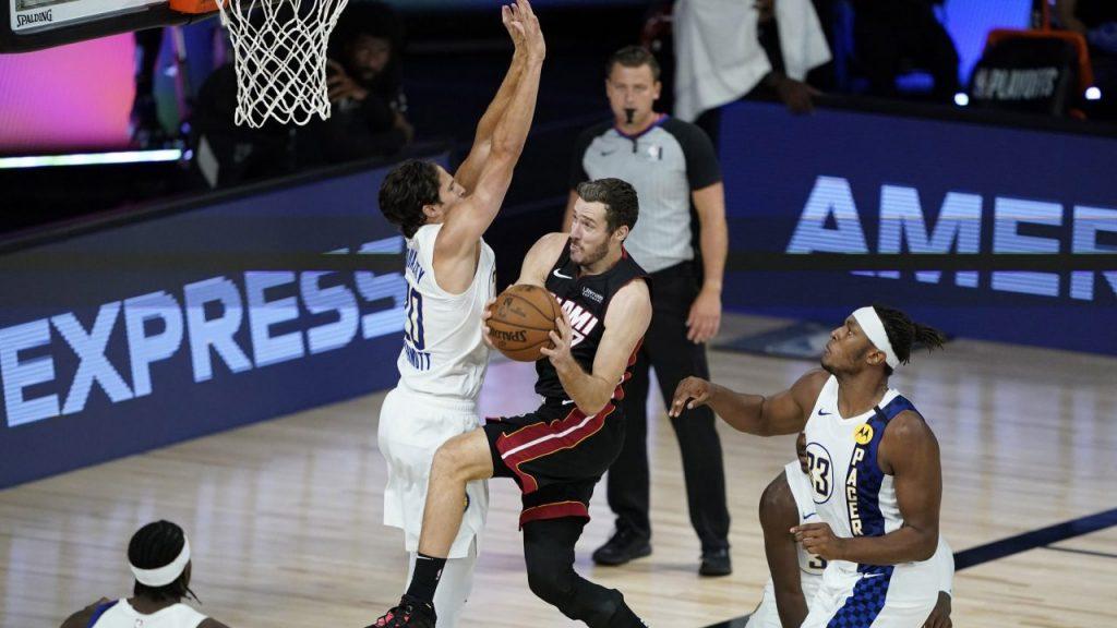 Goran Dragic fue la figura de Heat, que dejó fuera a Pacers. (Foto: Reuters)