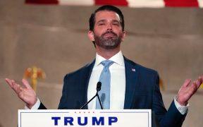 Donald Trump Jr. le pone apodos a Biden en feroz discurso durante la convención republicana