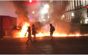 Reportan segunda jornada de protestas en Wisconsin por el caso Jacob Blake