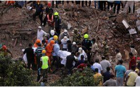 Reportan al menos 13 muertos y 8 heridos tras derrumbe de un edificio en India