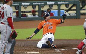 El juego del miércoles entre Astros y Angelinos se pospone debido al paso del huracán Laura. (Foto: Reuters)