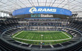 El SoFi Stadium, casa de los Carneros de Los Ángeles, no admitirá espectadores. (Foto: Reuters)