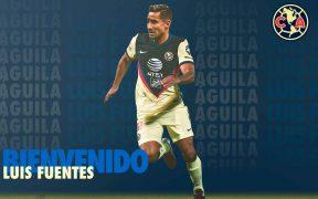 Luis Fuentes vuelve al Nido con el América. (Foto: @ClubAmerica)