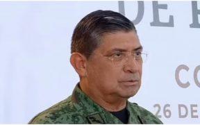 Luis Cresencio Sandoval, titular de la Secretaría de la Defensa Nacional (Sedena)