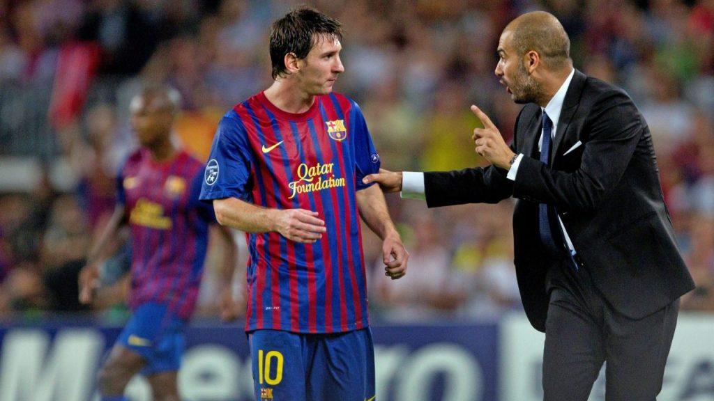 Messi vivió su mejor etapa bajo la gestión de Guardiola. (Foto: EFE)