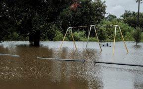 Huracán Laura provocó inundaciones en Louisiana