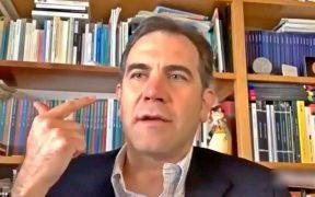 Lorenzo Cordova, consejero presidente del Instituto Nacional Electoral (INE)