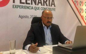 """No aceptaremos """"migajas""""; René Juárez dice que el PRI va por el año completo en San Lázaro"""