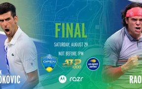Djokovic enfrentará a Raonic tras la final femenil entre Osaka y Azarenka. (Foto: @CincyTennis)