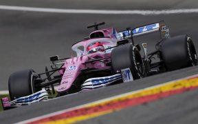 'Checo' Pérez logró el octavo puesto en la clasificación del Gran Premio de Bélgica. (Foto: EFE)