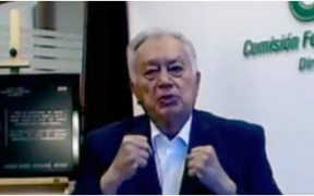 Manuel Bartlett, titular de la Comisión Federal de Electricidad (CFE)