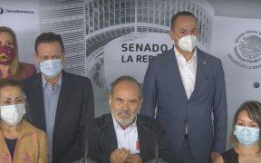Gustavo Madero reta a AMLO.