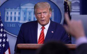"""""""Probablemente hubiera muerto"""": Trump defiende a joven que asesinó a dos manifestantes en Kenosha"""
