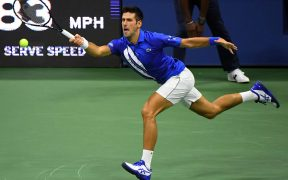 Djokovic venció en tres sets a Damir Dzumbur en el arranque del US Open. (Foto: Reuters)