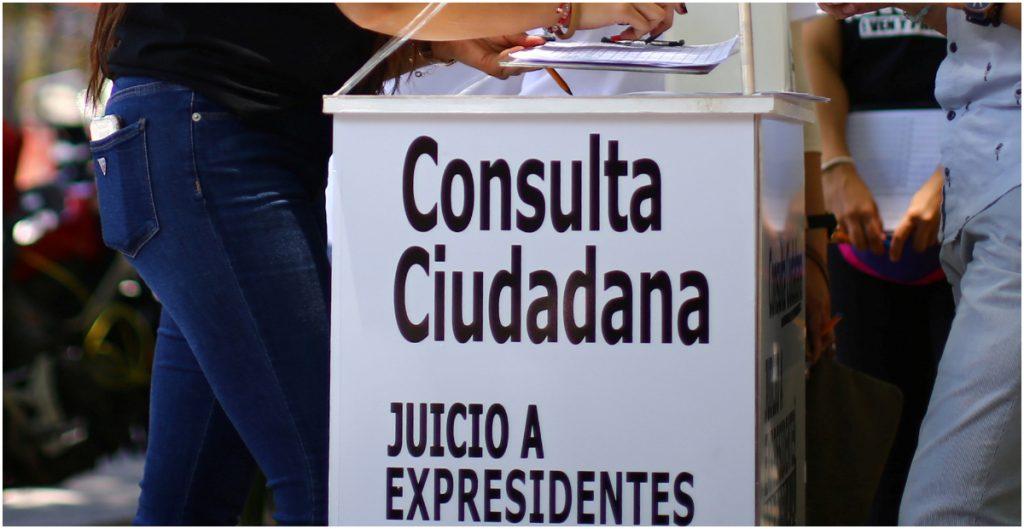 Corte recibe propuesta de consulta ciudadana.