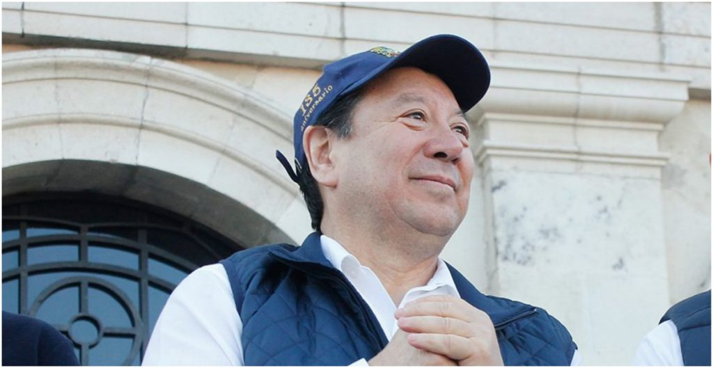 Gerardo Sosa Castelán, expresidente del Patronato de la Universidad Autónoma del Estado de Hidalgo (UAEH).
