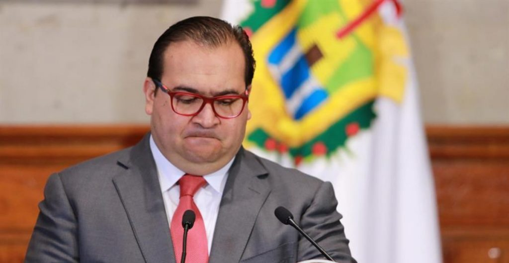 Javier Duarte, exgobernador de Veracruz.