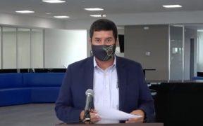Corral acusa que fuerzas federales dejan seguridad en Chihuahua en represalia por conflicto del agua