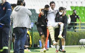 Zaldívar se lesionó ante León y se perderá todo el torneo. (Foto: @CEADeportes)