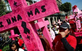 Suben 5.4% los feminicidios en la primera mitad del año