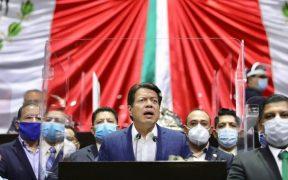 """La agenda legislativa continuará """"color Morena"""", asegura Mario Delgado"""