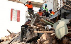 Detectan señales de vida bajo escombros en Beirut tras explosión