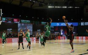 El triple de Anunoby fue magistral y revive a los Raptors en la serie. (Foto: @NBA)