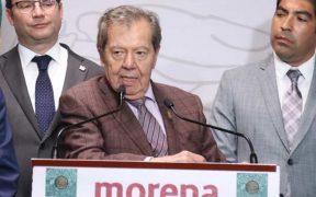 Porfirio Muñoz Ledo buscará la dirigencia de Morena