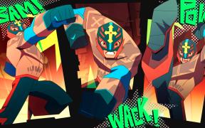 La serie animada de Rey Mysterio será producida por Cartoon Network. (Foto: @dessignare)