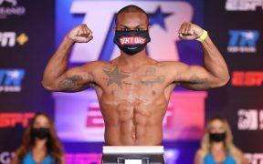 DeAndre Ware, quien también es bombero, pelea el sábado en Las Vegas. (Foto: Top Rank)