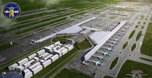 Al 80.7%, el avance financiero del aeropuerto de Santa Lucía, reporta hacienda