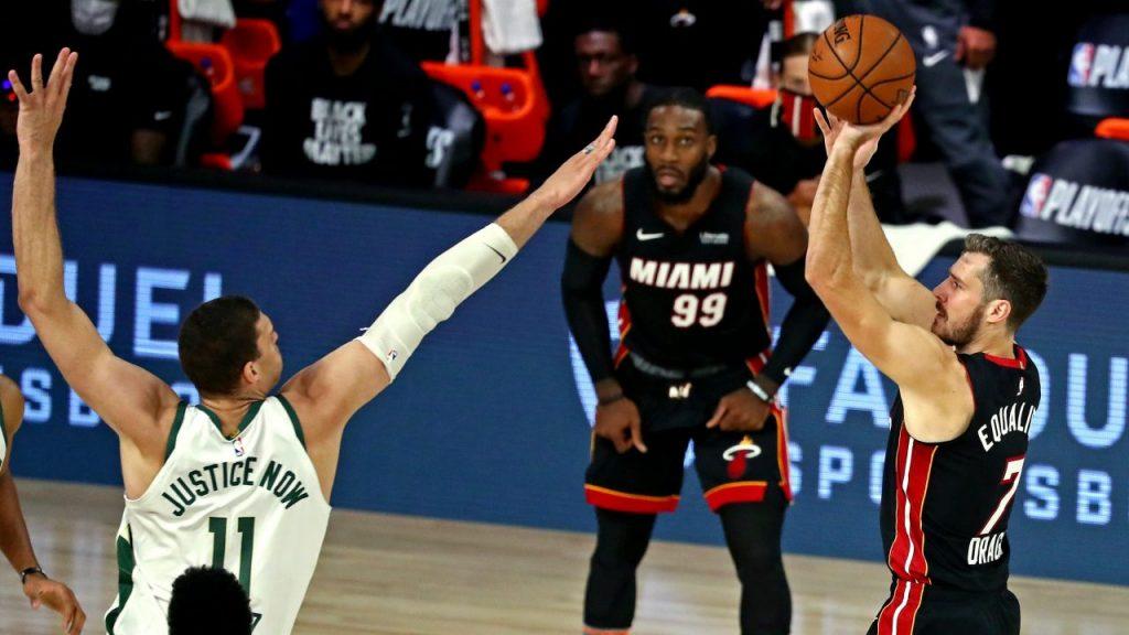 Heat regresó en el último cuarto y ya está 3-0 sobre Bucks. (Foto: Reuters)