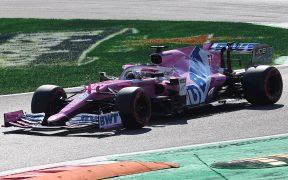 'Checo' Pérez alcanzó el cuarto puesto en la clasificación del Gran Premio de Italia. (Foto: EFE)