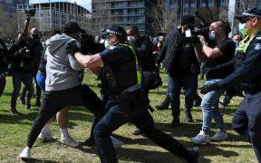 Protestas en Australia