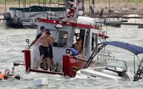 Cuatro botes se hunden durante un evento de apoyo a Trump en Texas