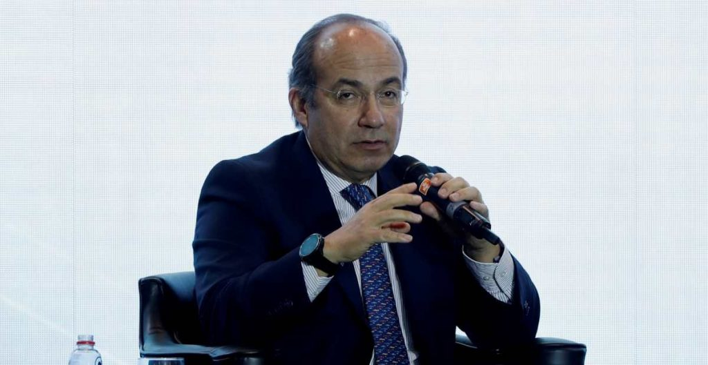 Felipe Calderón sobre México Libre.