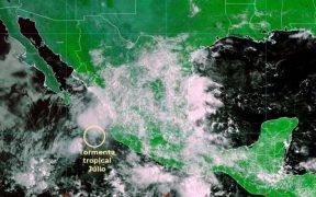 Tormenta tropical 'Julio' en México.