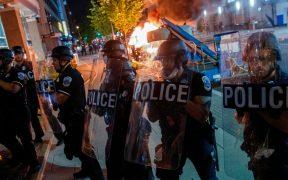 Protestas en Portland dejan 59 arrestos, mientras Trump clama por ley y orden