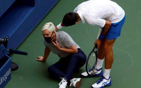 Djokovic intervino en redes sociales para calmar a los aficionados que atacaron a la jueza. (Foto: EFE)