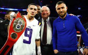 López y Lomachenko protagonizarán el combate más esperado del año. (Foto: @BobArum)