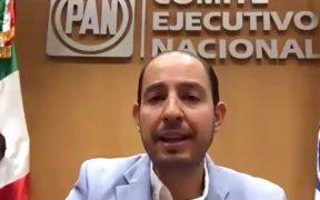 Marko Cortés invita a Calderón y Zavala a volver a PAN